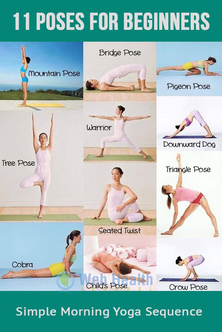 11 poses for beginners : Fitness & Exercise