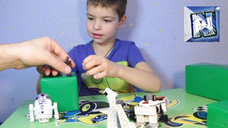 Лего Звездные войны - набор 2 lego brickmaster star wars - Ambush in th...
