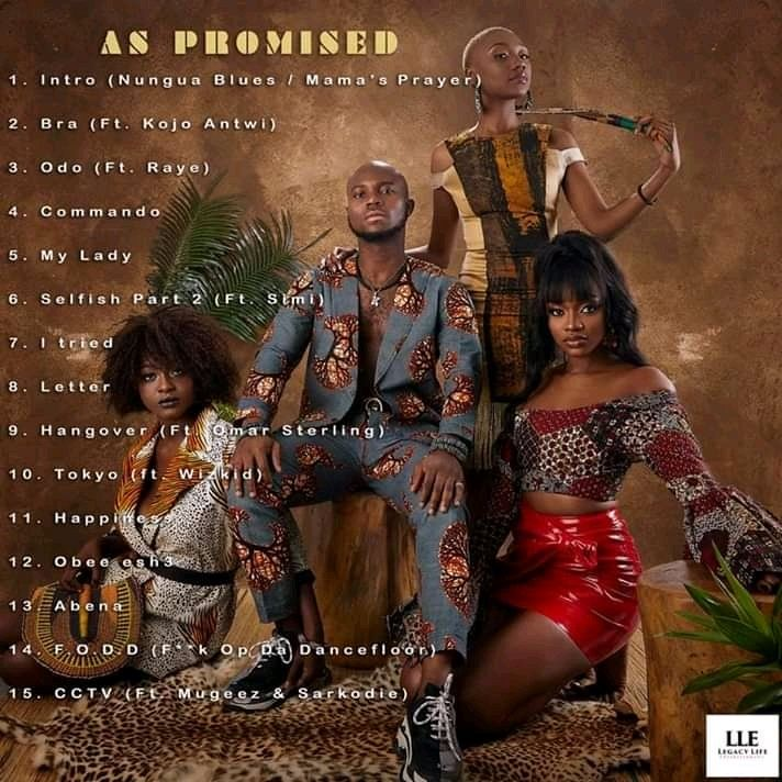 Here S The Tracklist For King Promise S Album As Promised