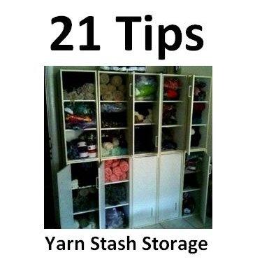 Get Organized: 21 Tips For Yarn Stash Storage