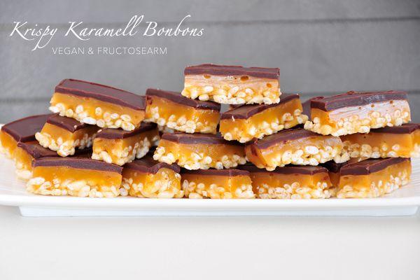 Krispy Karamell Bonbons glutenfrei, vegan & fructosearm