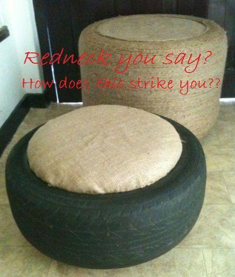 Pin by patricia p rez aparicio on diy hogar pinterest for Diy tire chair