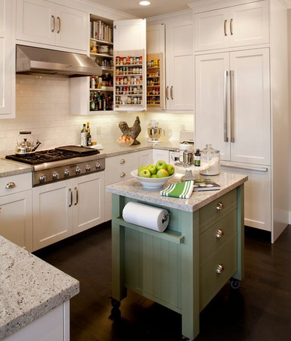 portable kitchen islands they make reconfiguration easy and fun - Movable Kitchen Island Ideas