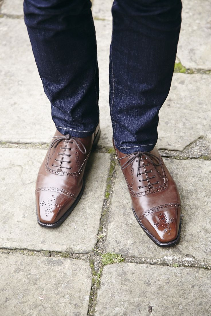 The brown brogue...does it get much better? The Windermere in Mocha calf  http://www.theshoesnobblog.com/