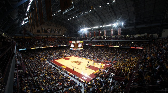 Williams Arena, one of my favorite places to hang out with my son Cole.