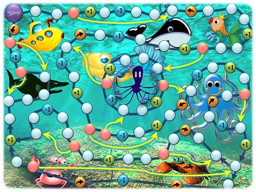 Напечатай и Играй: Подводное путешествие. Распечатай и играй