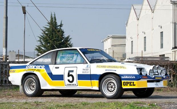 1984 Opel Manta 400 Group B Rally Car