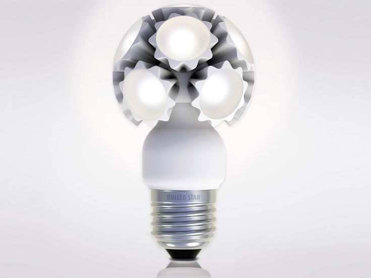 New Light Bulb Design With Unique Shape, Bulled By Ledo LED Technologie