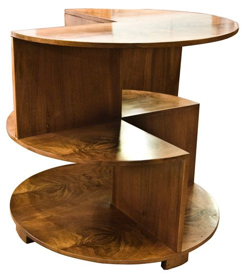 Art Deco Circular Cube Table British   The Old Cinema   Antique Furniture   Vintage  Industrial  Danish  French. My Dream Art Deco Apartment  a collection of ideas to try about