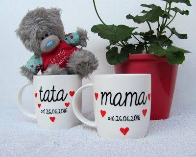 #mug #parents #gift #idea #komodapomyslow #birthday #hearts #congratulations #children #mama #tata #mom #dad #daddy