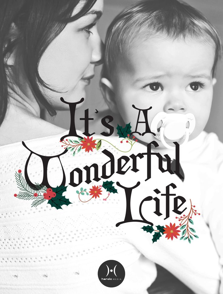 """""""Strange, isn't it? Each man's life touches so many other lives. When he isn't around he leaves an awful hole, doesn't he?"""" - #ItsaWonderfulLife #life #family #prolife"""