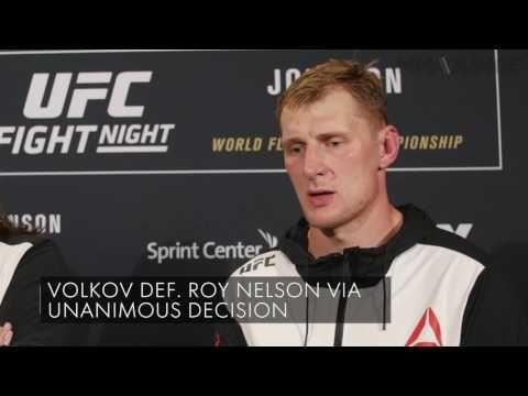 MMA Alexander Volkov picks apart Roy Nelson at UFC on FOX 24