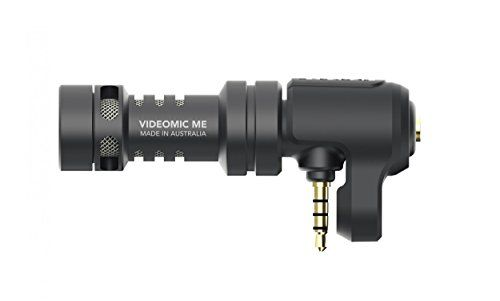 Rode VideoMic Me Directional Microphone for Smart Phones - Compact and lightweight, the VideoMic Me is a high-quality directional microphone that connects directly to the iPhone TRRS microphone/headphone socket. Its flexible mounting bracket accommodates a wide range of smartphones and allows the microphone to be fitted for primary camera or front... - http://ehowsuperstore.com/bestbrandsales/musical-instruments/rode-videomic-me-directional-microphone-for-smart-phones