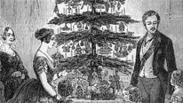 At the beginning of the 19th century Christmas was hardly celebrated.However by the end of the century it took on the form that we recognise today.Many attribute the change to Queen Victoria, and it was her marriage to the German-born Prince Albert that introduced some of the most prominent aspects of Christmas. In 1848 the Illustrated London News published a drawing of the royal family celebrating around a decorated Christmas tree.