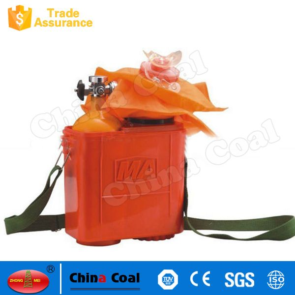 China Standard Recyclable Compressed Type Oxygen Self Rescuer