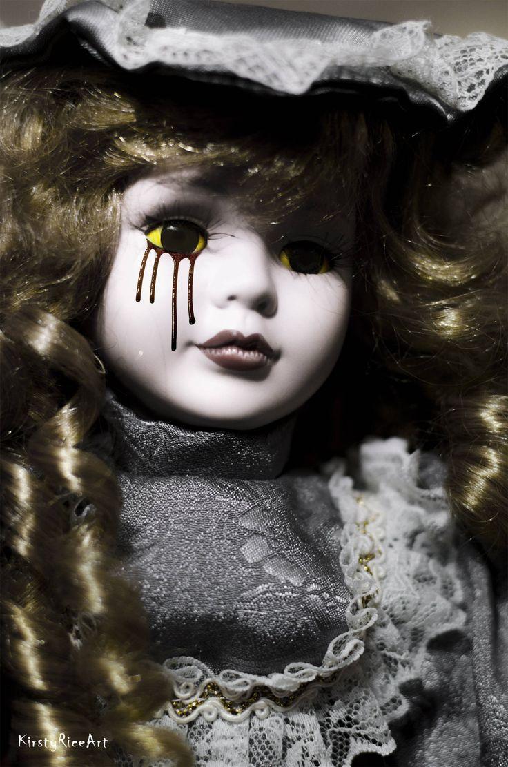 Best 25 scary dolls ideas on pinterest creepy dolls for - Scary yellow eyes ...