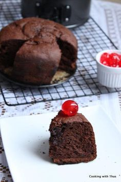 Chocolate Cake made in a Pressure Cooker