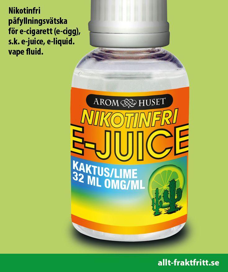 Nikotinfri E-juice Kaktus/Lime 32ML