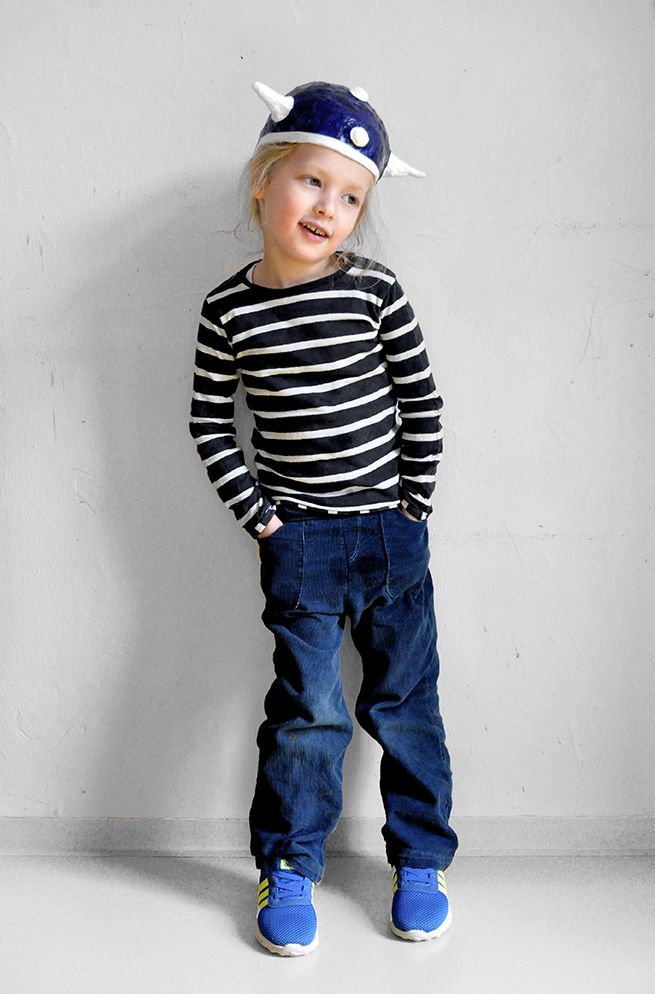 MIX & MORITZ-Hose aus dunkelblauem Feincord