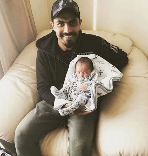 Ravindra Jadeja reveals name of his new-born daughter