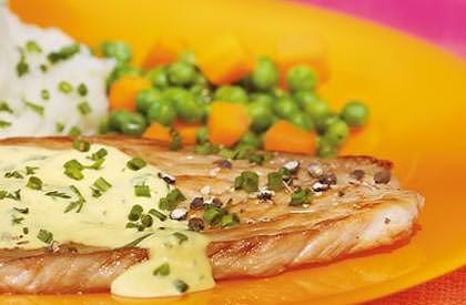 Les Escalopes de porc sauce moutarde, une autre façon de savourer le porc du Québec.