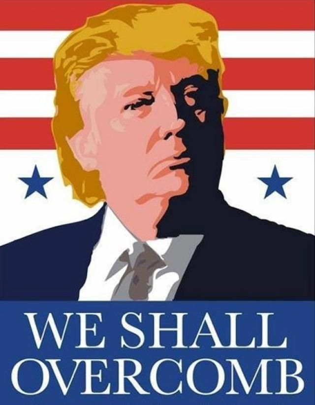Funny Memes Skewering the 2016 GOP Candidates: Donald Trump: We Shall Overcomb