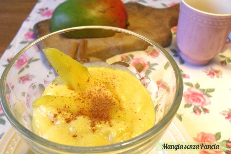 Mousse al mango light