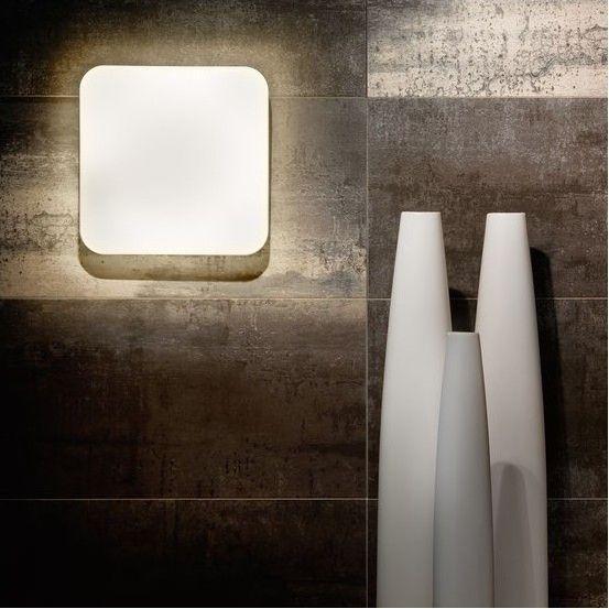 Απλίκα τοίχου - πλαφονιέρα οροφής φωτιστικό μπάνιου με βάση από ατσάλι σε λευκό χρώμα και γυαλί πλαστικό λευκό. LED GIRON από την Eglo. --------------- Wall Lamp, ideal for bathroom, with steel base in white color and white plastic glass. #bathroom #bathroomdesign #bathroomideas #decorationideas #walldecor #walllamp #walllight #papantoniougr #eglo