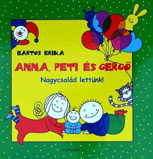 Bartos Erika - Anna, Peti és Gergő sorozat