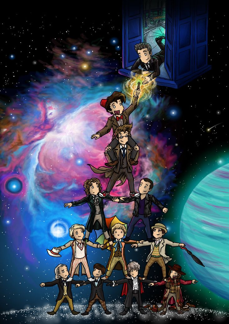 Doctor Who Fanzine Cover III by blackbirdrose.deviantart.com on @DeviantArt