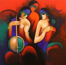 Arvind Kolapkar - Three Musicians