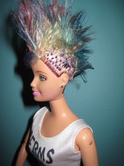 Barbie Hairstyles barbie hairstyles for girls I Used To Do This With Our My Little Ponies