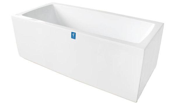 Neptun Porfyr ARES 178x80 Et stilig rektangulært badekar i et stilrent design. Med rette linjer og helstøpt front uten skjøter. En stabil konstruksjon i kombinasjon med god badekomfort, gir et gedigent helhetsinntrykk. En fryd for øyet i et luksuriøst baderom. Pris pr stk. 15.990,-