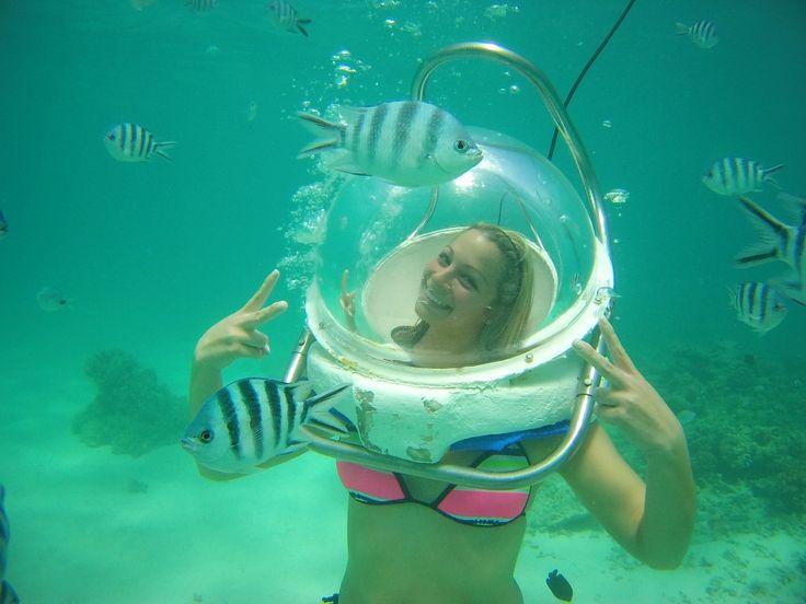 Undersea walk in Mauritius Island awesome sea activities