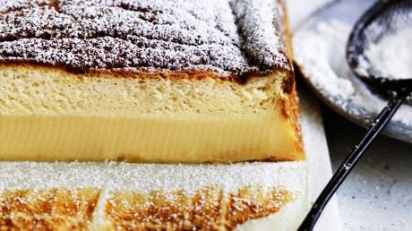 Magical marmalade custard cake.