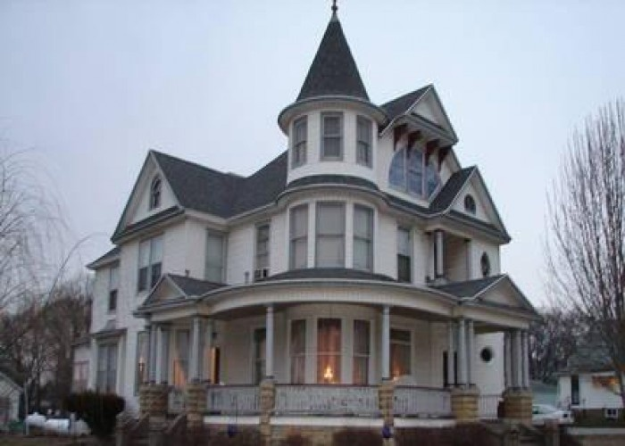 Victorian three story homes 1900s 3 story victorian 6 for Three story house for sale