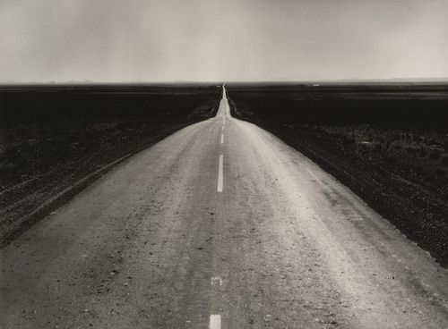 Dorothea Lange The Road West. New Mexico (1938)