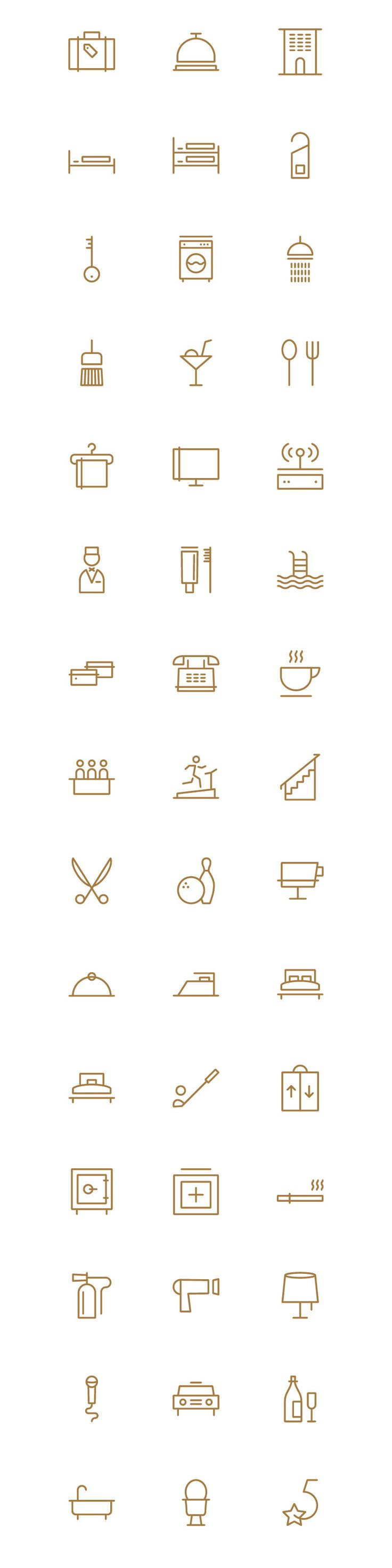 https://www.behance.net/gallery/26222203/Hotel-Theme-Icons