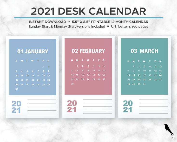 2021 printable monthly calendar modern rainbow color block on office wall colors 2021 id=39526
