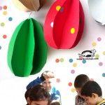 3D+Paper+Eggs