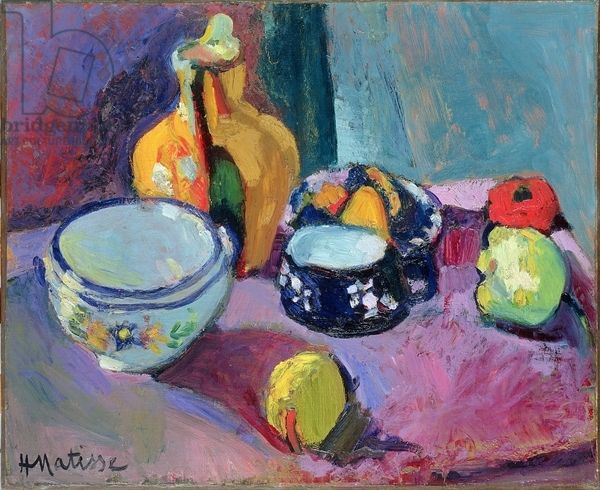 Matisse, Henri (1869-1954) Dishes and Fruit, 1901 (oil on canvas)