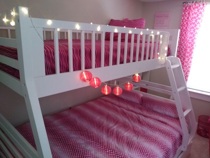 LED lights from target and sheets from Burlington Coat ...
