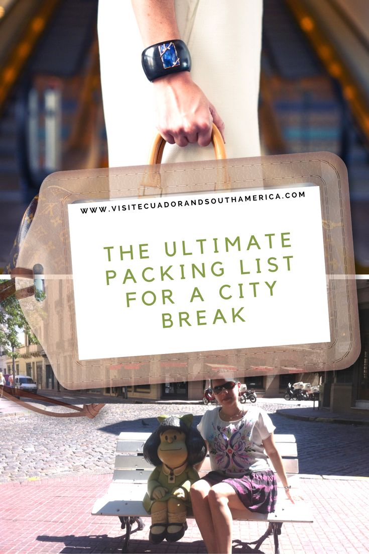 This checklist has been created keeping in mind recent short trips to and in big cities in #Europe and #Southamerica.  It is ideal for those planning on going for a short or long #trip in the city.