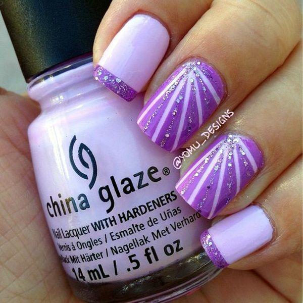 45 So Damn Sexy Purple Nail Art Designs - Best 25+ Purple Nail Ideas On Pinterest Purple Nails, Purple Gel