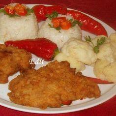 Egy finom Vasi pecsenye rizzsel és párolt karfiollal ebédre vagy vacsorára? Vasi pecsenye rizzsel és párolt karfiollal Receptek a Mindmegette.hu Recept gyűjteményében!