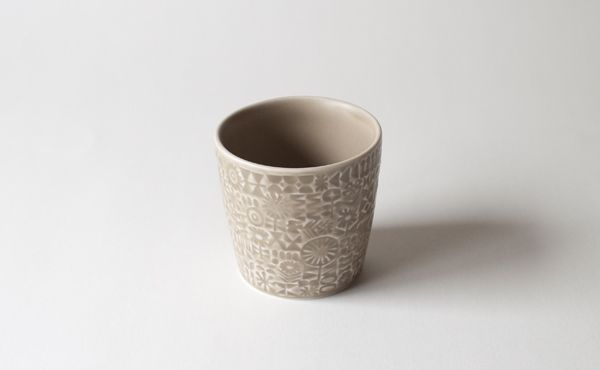PATTERNED CUP | BIRDS WORDS