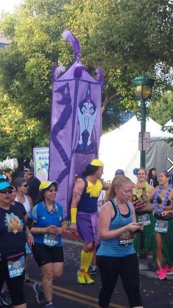 """Oh, right. The marathon. The marathon for Disneyland, the marathon chosen especially to run around Disneyland, Disneyland's marathon."""