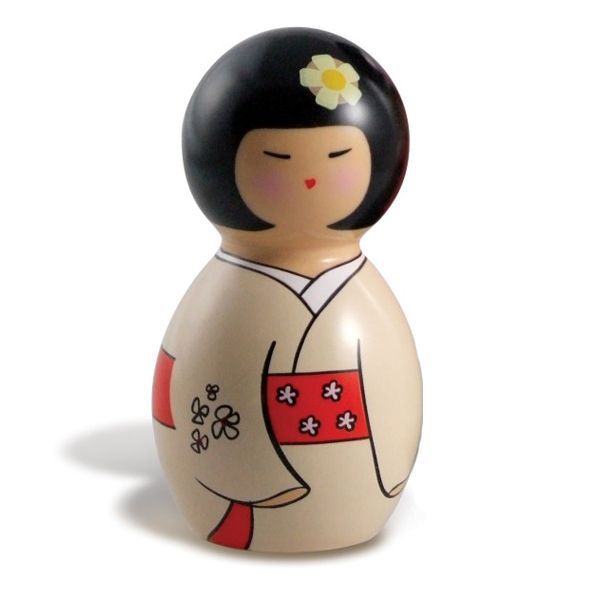 Originally made during the Edo Period in Japan (1600-1868), traditional Kokeshi Dolls were crafted by Kijiya artisans in the Miyagi Prefecture to sell to visitors who came to bathe in the local hot springs. Our waterproof, battery-powered Kokeshi Dancer™ features a quiet motor to bring you 3 speeds