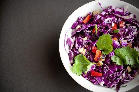 Le 5 ricette con il cavolo cappuccio rosso verdura autunnale