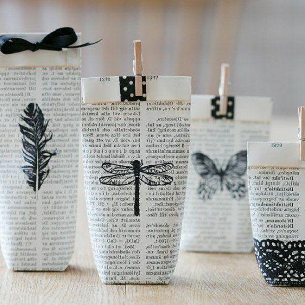 Basteln mit Zeitungspapier macht Spaß und tut der Natur wohl